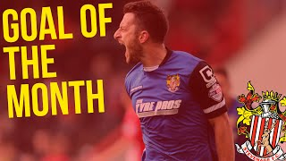 OCTOBER GOAL OF THE MONTH: Vote now!