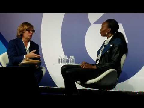 Venus Williams on relationship with Serena Williams,  apparel brand EleVen