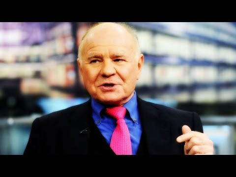 Marc Faber: I Expect a Big Stock Selloff in the Fall