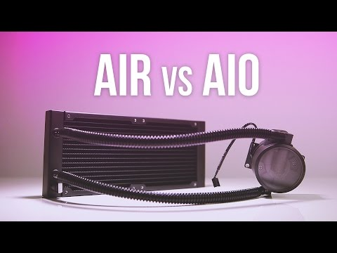 Upgrading to a 240mm AIO Liquid Cooler... Worth it?