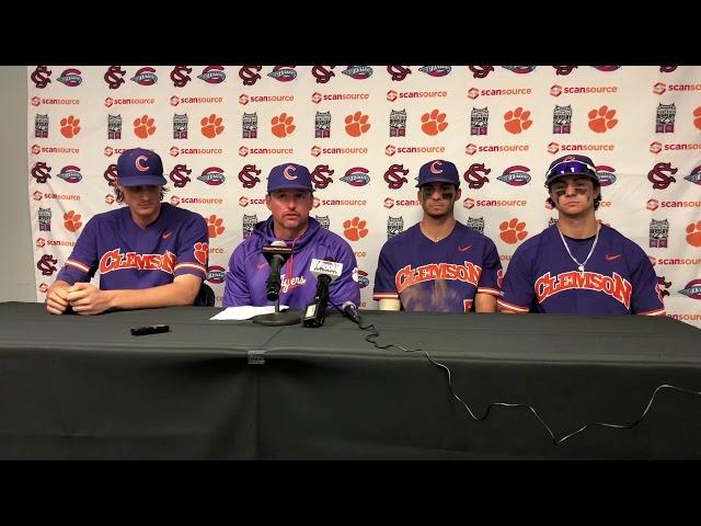 Clemson Baseball    Lee, Jones, Hall, Teodosio - 3/2/19