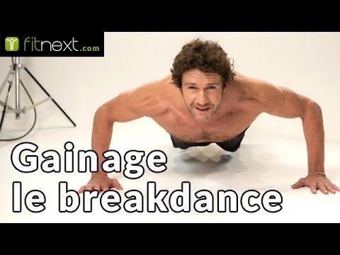 "Exercice de gainage: le ""breakdance"" - Fitnext.com - YouTube"