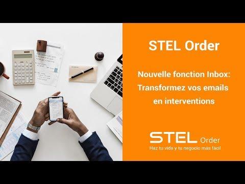 Nouvelle fonction Inbox   STEL Order