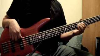 "bass cover- ""She came in through the bathroom window"" by The Beatles"