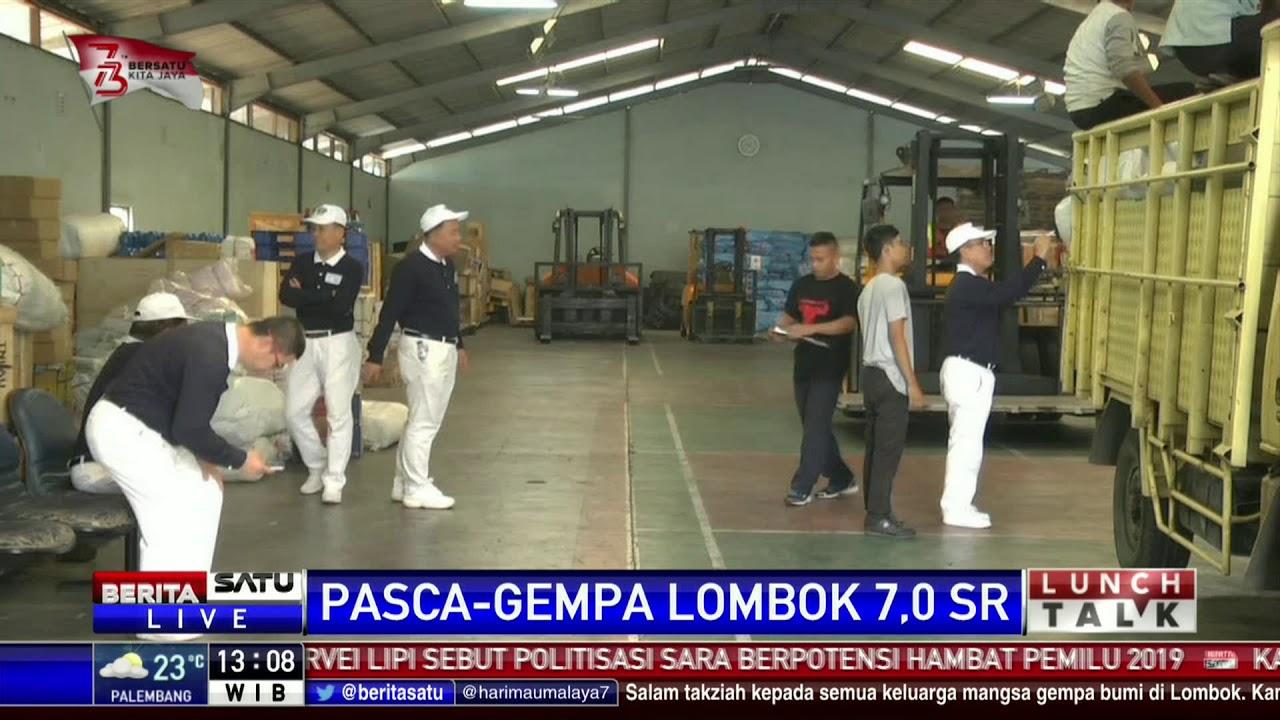 Tni Buka Posko Bantuan Korban Gempa Lombok Di Lanud Halim Rumah Untuk Keluarga Perdanakusuma