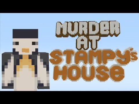 Minecraft Xbox - Murder Mystery - Stampy's House - I'M THE MURDERER!