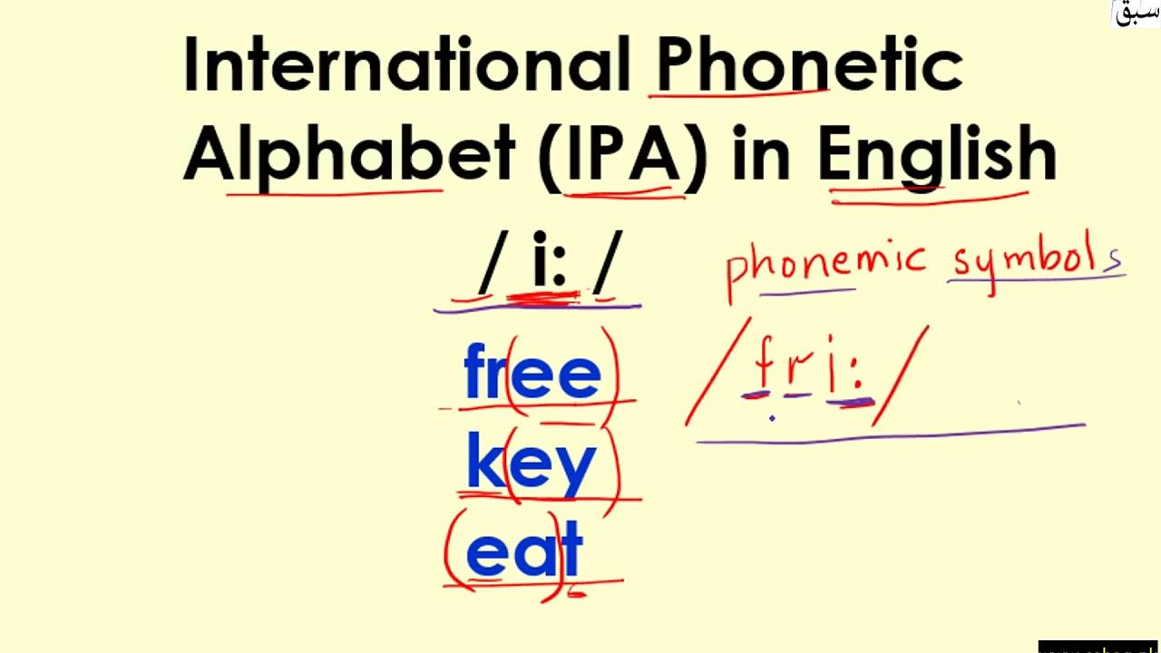 International Phonetic Alphabet Ipa In English Introduction English Lecture Sabaq Pk Youtube