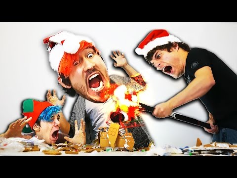 GINGERBREAD HOUSE BUILDING CHALLENGE