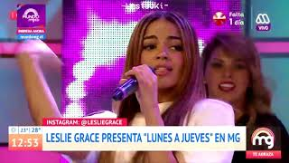181129 Leslie Grace - Lunes A Jueves Mucho Gusto