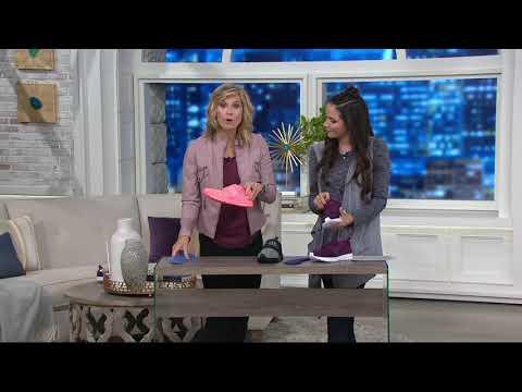 3b743049ace Смотреть видео PUMA Knit Lace-up Sneakers - Enzo Strap Knit on QVC онлайн