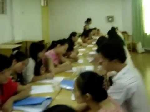 tefl speed dating activity