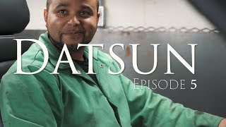 Datsun Series Episode 5 - Floor and Transmission Tunnel