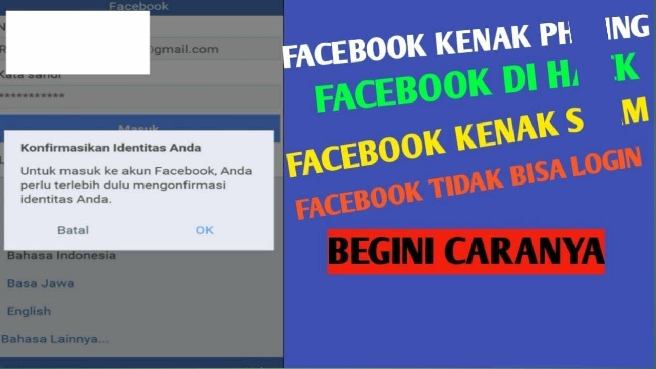 Cara Mengatasi Facebook Tidak Bisa Login Part 1 Youtube
