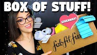 BOX OF FUN STUFF! FabFitFun Winter Edit Sale Unboxing + Giveaway!