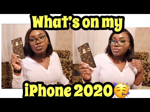 what's-on-my-iphone-2020?!!