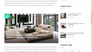 Furnhome - Furniture Shop eCommerce HTML Template - Site Templates Download