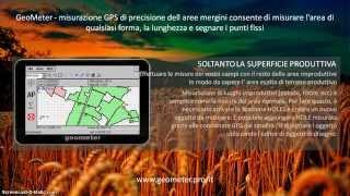 GeoMeter - misurazione GPS di precisione dell aree mergini