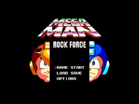 Mega Man Rock Force Music - Charade Man (April 2015, Extended)