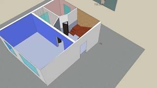 видео Профессиональная штукатурка стен по маякам