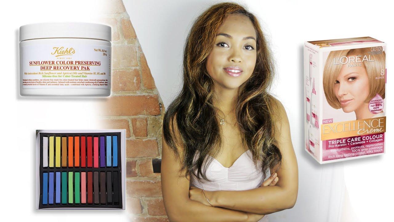 Hair Products Fail Kiehls Loreal Hair Chalk Youtube