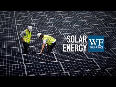 Paddy Padmanathan on solar energy | ACWA Power | World Finance Videos