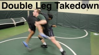 Wrestling Moves KOLAT COM Double Leg Takedown & Finish