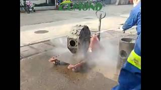 Ship/boat hot water pressure washer,Industrial heavy duty equipment cleaning machine
