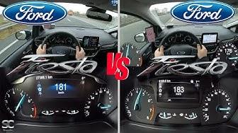 2018 Ford Fiesta Mk8 VS 2020 Ford Fiesta Mk8 Active