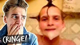 TRY NOT TO CRINGE CHALLENGE - MY OLD VIDEOS