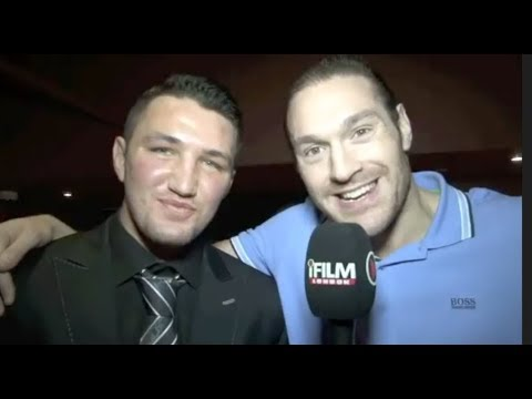 THE MOMENT TYSON FURY PREDICTED HUGHIE FURY WILL BE WORLD CHAMPION IN HIS FIRST EVER INTERVIEW