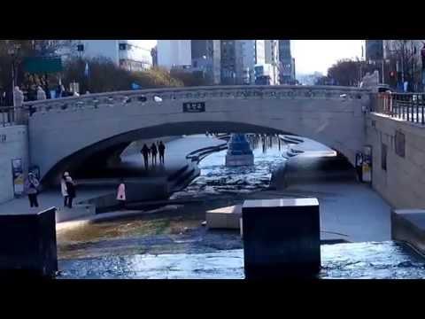 เที่ยวเกาหลี : คลองชองกเยชอน Cheonggyecheon South Korea