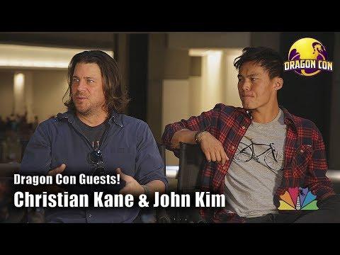 Christian Kane & John Kim @ Dragon Con 2018 dragoncontv