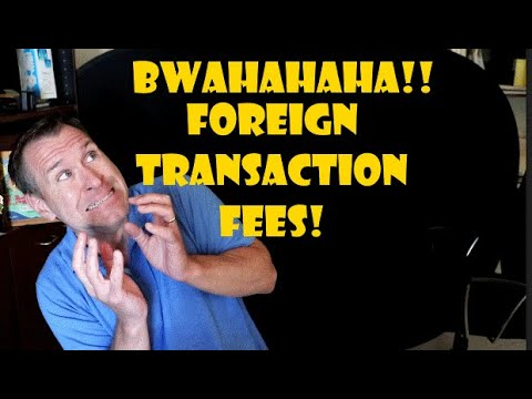 Credit Card Foreign Transaction Fees On The Comeback??!!