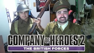 AngryJoe plays Company of Heroes 2: British Forces!