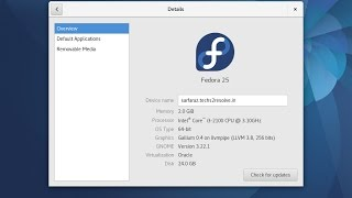 How to install Fedora 25