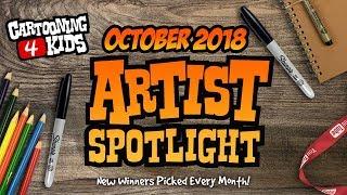 TOP 25 | Artist Spotlight | October 2018