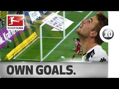 Top 10 Own Goals - Updated