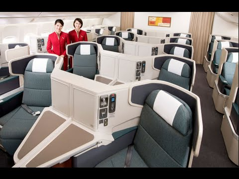 A330 Cathay Pacific Business Class review Hong Kong - Male