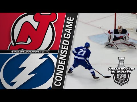 04/14/18 First Round, Gm2: Devils @ Lightning