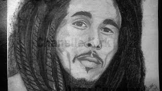 Bob Marley Drawing (Time Lapse)
