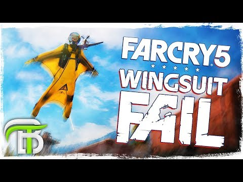 EPIC WINGSUIT FAIL (Far Cry 5 PS4 Pro Gameplay) #4