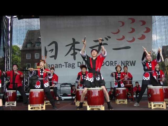 Taiko Kids Düsseldorf beim Japan Tag 2013