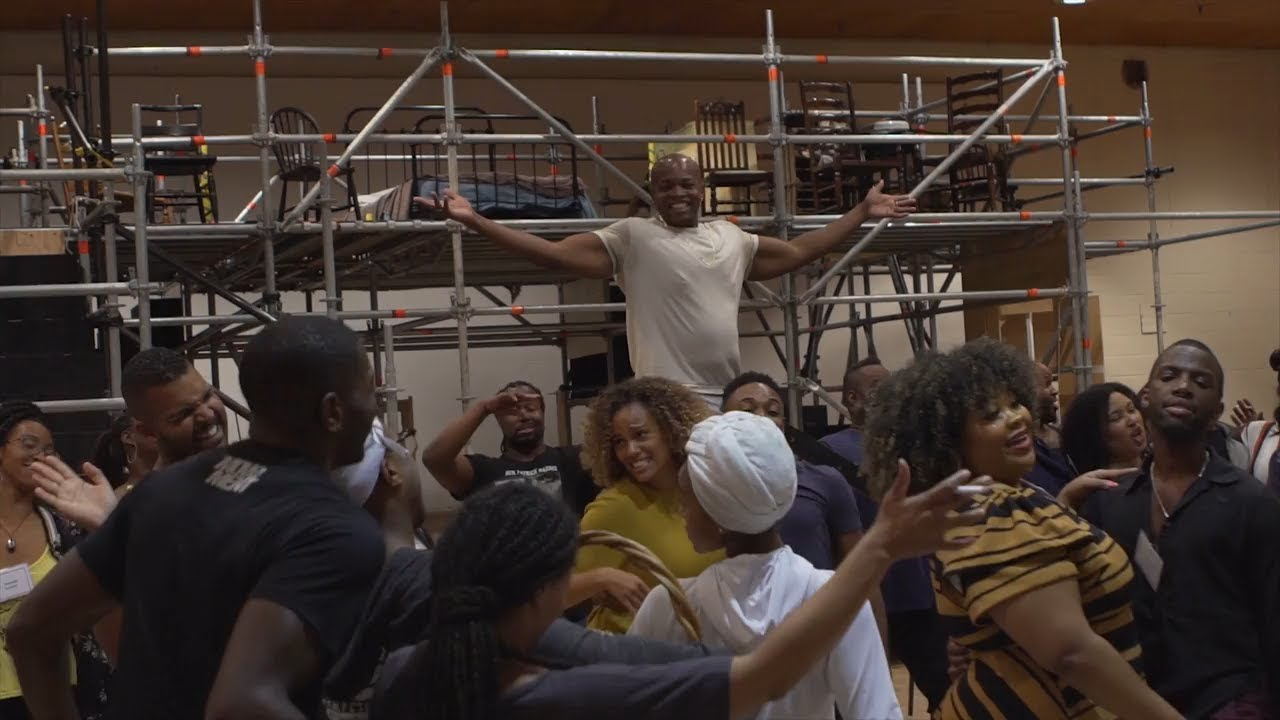 "Porgy and Bess: ""It Ain't Necessarily So"" in Rehearsal"
