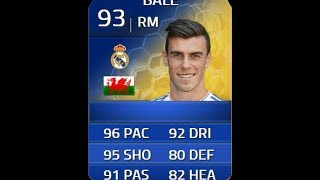 FIFA 14 TOTS BALE 93 Player Review & In Game Stats Ultimate Team