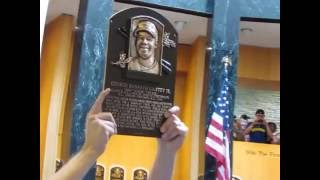 Ken Griffey Jr's Baseball Hall of Fame plaque Revealed & Hung for the 1st time Ever (Complete Vid)!