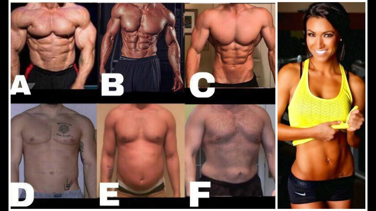 Men, which body do you like the look of?