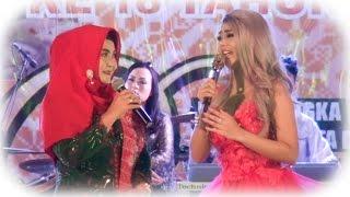Haslinar Zul AS feat Jenita Janet Lagu Terajana-Penutupan Dumai Expo 2017