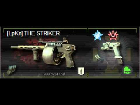 How to set up a Striker class in MW3