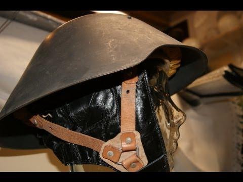 DDR NVA Stahlhelm M56 mit Nackenleder für MZ ES 250 A EAST GERMANY Helm Steel helmet