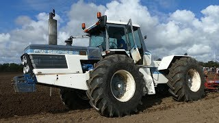 Ford FW35 Ploughing w/ 7-Furrow Fraugde Sanderum Plough | Ford Event 2017 | DK Agriculture